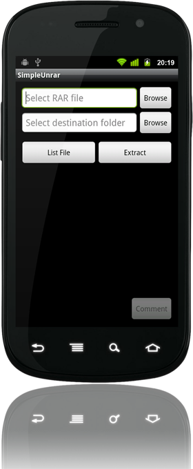 Simple Unrar for Android